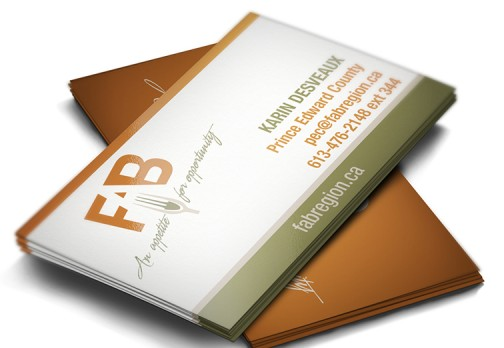 FAB Region Business Cards