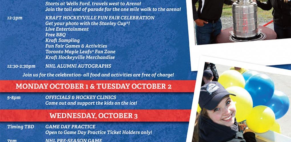 Kraft Hockeyville Event Ad