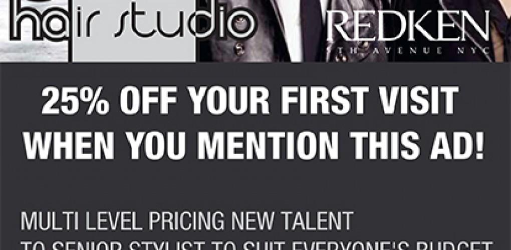 Jazz Hair Studio Newspaper Ad