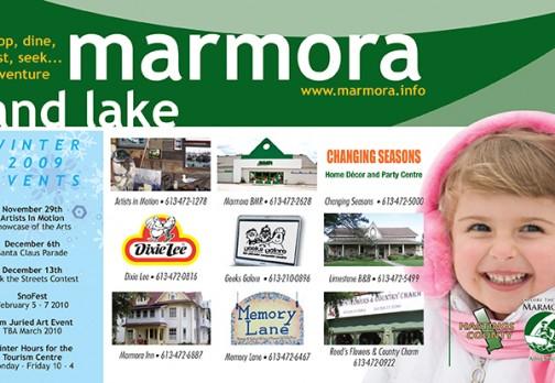 Marmora & Lake Seasonal Ad